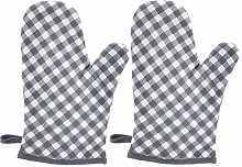 Dusenly 1 pair of kitchen oven gloves, microwave
