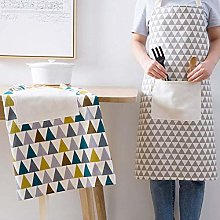Dusenly 2pcs Women's Apron With Pockets