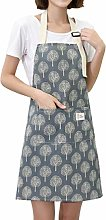 Dusenly Women's Cooking Apron for Women Chefs