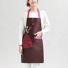 Dusenly Women Aprons with Pocket Fashion Princess