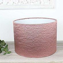 Dusky Pink Alchemy Drum Lampshade (20 cm Diameter