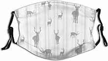 Dust Mask Animal Fallow Deer Standing Walking