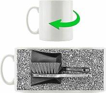 Dustpan and Brush Coffee Mug East Urban Home