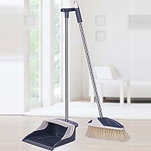 Dustpan and Brush, Long Handle Broom and Dust Pan