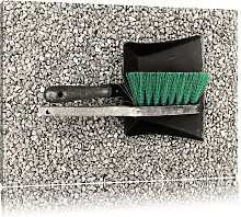 Dustpan and Brush Photographic Art Print on Canvas