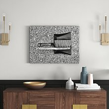 Dustpan and Brush Wall Art on Canvas East Urban