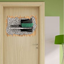 Dustpan and Brush Wall Sticker East Urban Home