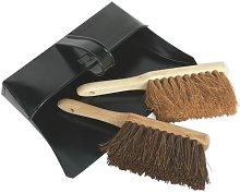 Dustpan & Brushes Metal - Sealey