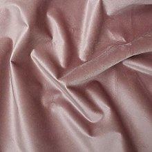 Dusty Pink - LUXURY VELVET SHINY PLAIN GENOVA