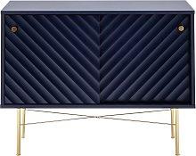 Dutch Glam 2 Door Drinks Cabinet - Blue