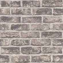 DUTCH WALLCOVERINGS Wallpaper Bricks Brown - Brown