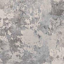 DUTCH WALLCOVERINGS Wallpaper Concrete Dark Grey -