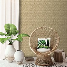 DUTCH WALLCOVERINGS Wallpaper Geometric Beige -