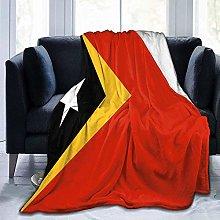 DUTRIX East Timor Flag Super Soft Microfleece