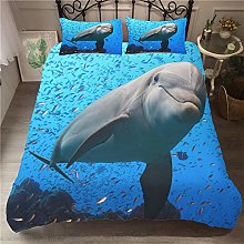Duvet Cover Dolphin animal fish Bedding sets For