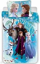 Duvet Cover Frozen 2 Family baby 100 x 135+40 x 60