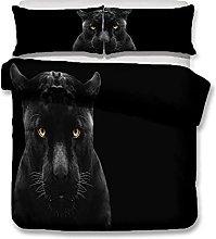 Duvet Cover Jaguar animal Bedding sets For Boys
