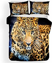 Duvet Cover Leopard animal Bedding sets For Boys