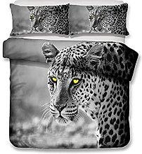 Duvet Cover Leopard large animal Bedding sets For
