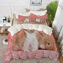 Duvet Cover Set, Bed Sheets, Adorable Brown Born