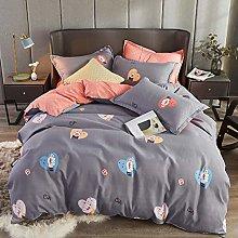 Duvet Cover Set Kids Girls Bedding 3(4) Pieces