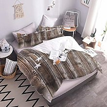 Duvet Cover Setfive-Pointed Star Easy Care Quilt