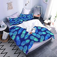 Duvet Cover Setpineapple Easy Care Quilt Cover And