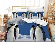 Duvet Cover Sets 3D Baby Penguin Printing Child