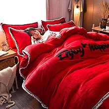 duvet cover super king size,Winter thick and warm