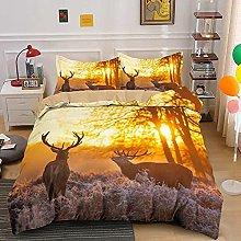 Duvet Cover Twilight elk moose animal Bedding sets