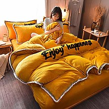 duvet covers double,Winter thick and warm baby
