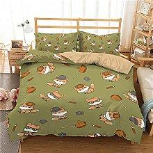 Duvet Covers King Size Beds Children Cartoon Fox