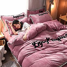 duvet covers single,Winter thick and warm baby