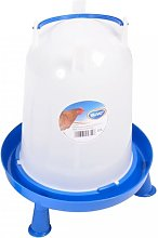 Duvo+ Poultry Waterer with Handle and Studs 10 L -