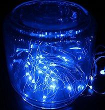 DVMRUIB 3M/10Ft 30leds Blue Led Ultra Thin AA