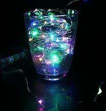 DVMRUIB 5M/16.5Ft 50leds Colorful Led Ultra Thin