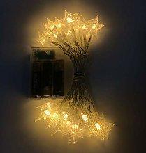 DVMRUIB Star Decorative Led Light on Clear