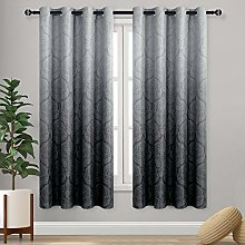 DWCN Ombre Blackout Curtains for Living Room -
