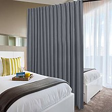 DWCN Privacy Room Divider Blackout Curtain - Patio