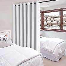 DWCN Total Privacy Room Divider Blackout Curtain -
