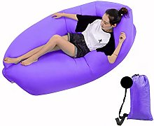 DWHJ Inflatable Recliner, Portable Inflatable Sofa