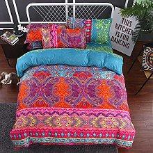 DWSM Bohemian Ethnic Indian Exotic Bedding Set