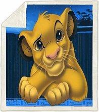 DWSM Children's Blanket ? Lion King 3D Printed