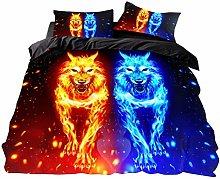 DWSM Wolf 3D Animal Design Children's Bedding