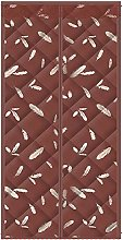 DWXN Cartoon Brown Feather Pattern Thermal
