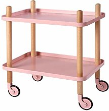 Dxbqm storage 2Tier Shelving Removable Cart Home