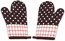 DXIA 1 Pair Kitchen Oven Gloves, Heat Resistant