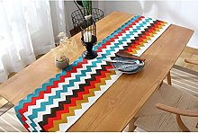 DXQDXQ Elegant Multicolor Table Runner Creative