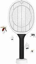 DXQDXQ Mesh Portable Fly Swatter Zapper Racket