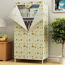 Dxtxx Single Wardrobe Fabric Cabinet, Clothes